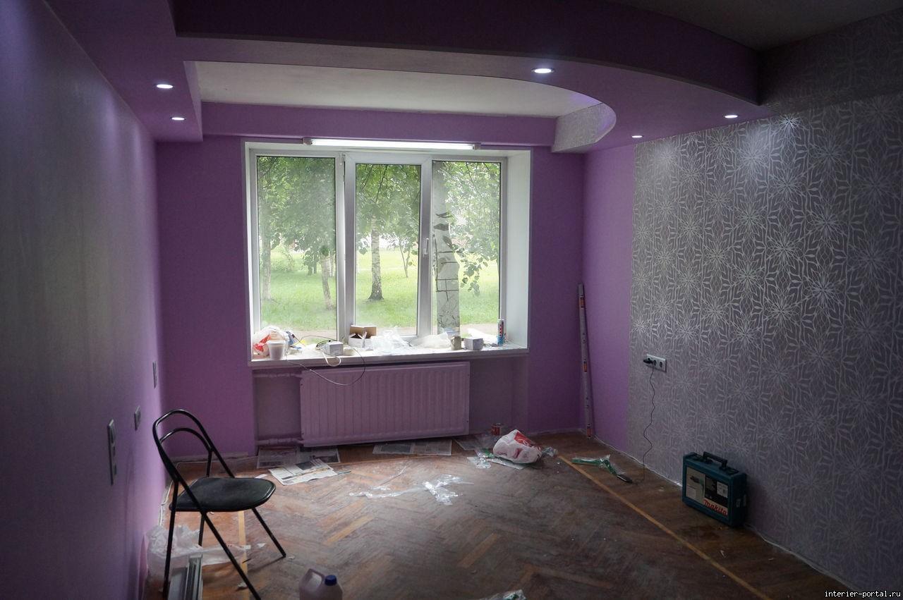 Как сделать недорогой ремонт в комнате 844