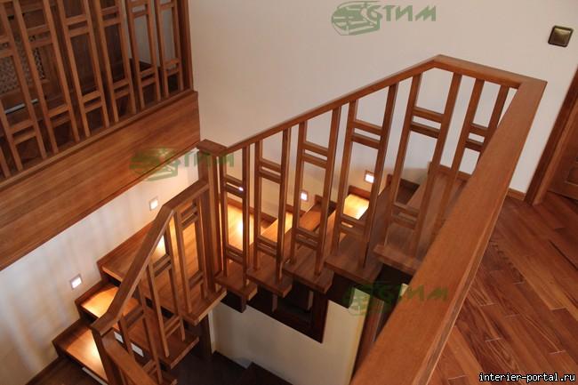 Как сделать деревянные перила на лестницу своими руками